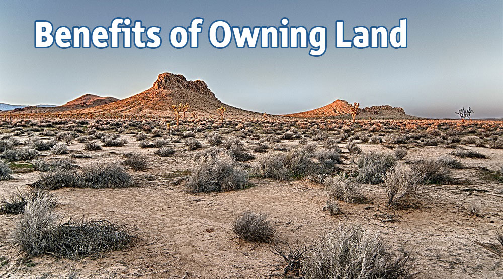 Benefits of owning land